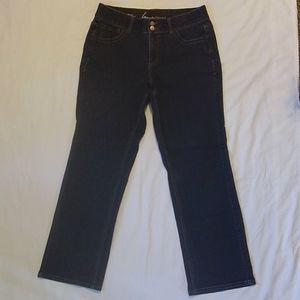 Lane Bryant Tighter Tummy Stretch Denim Blue Jeans